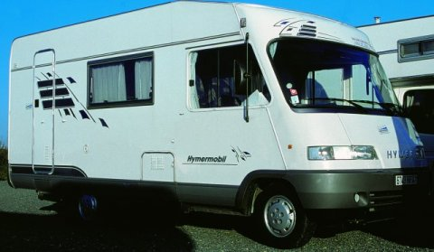 camping car integral hymer b 544