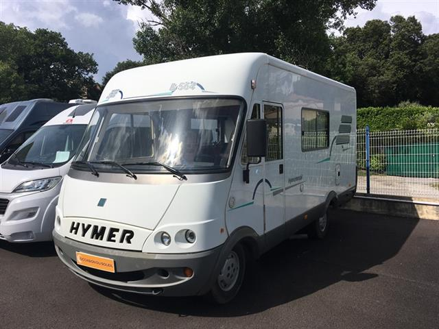camping car integral hymer b 564