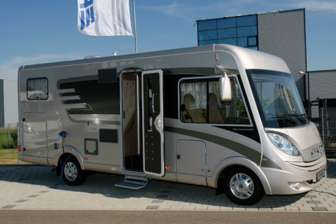 camping car integral hymer b 594