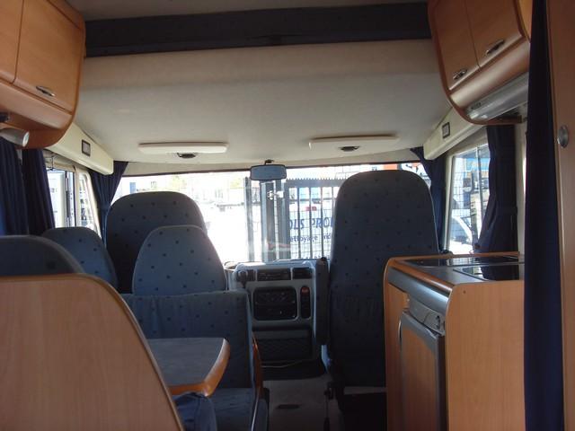 camping car integral hymer br 598
