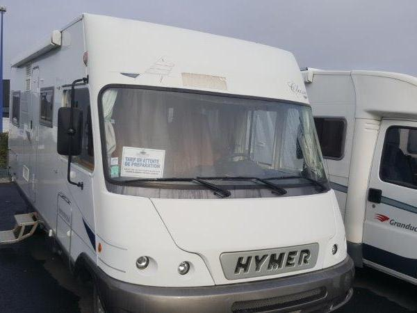 camping car integral hymer classic bc 655