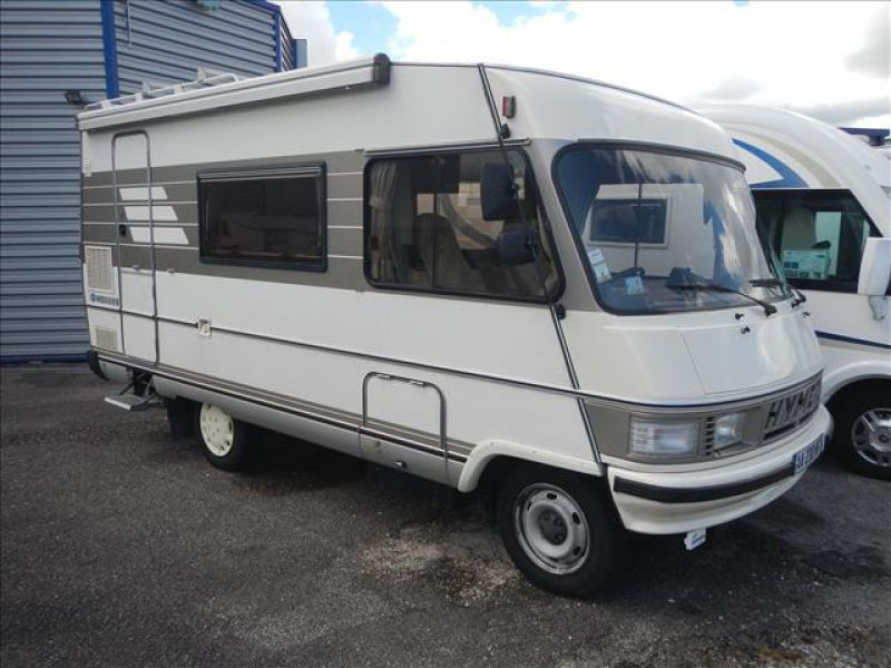 camping car integral hymer d'occasion