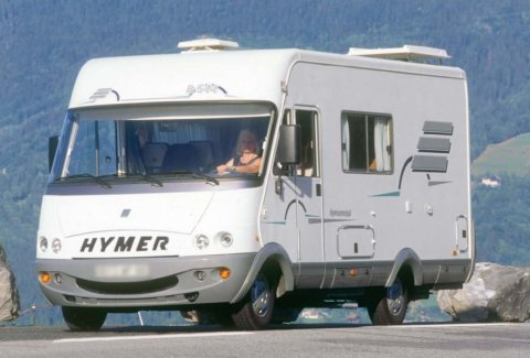camping car integral hymer occasion