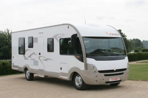 camping car integral lit central itineo