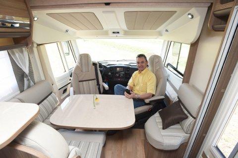 camping car integral lit central
