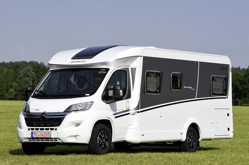 camping car integral neuf 5 places