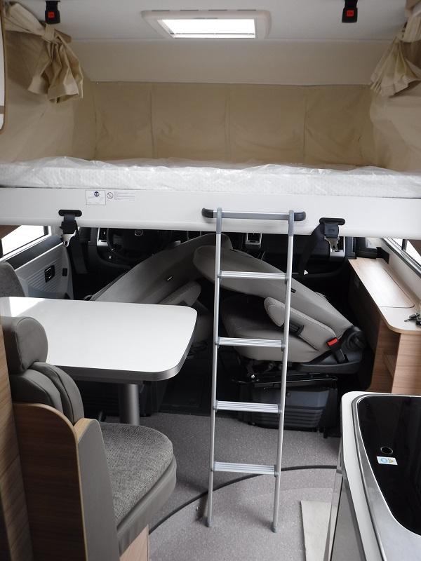 camping car integral neuf dethleffs