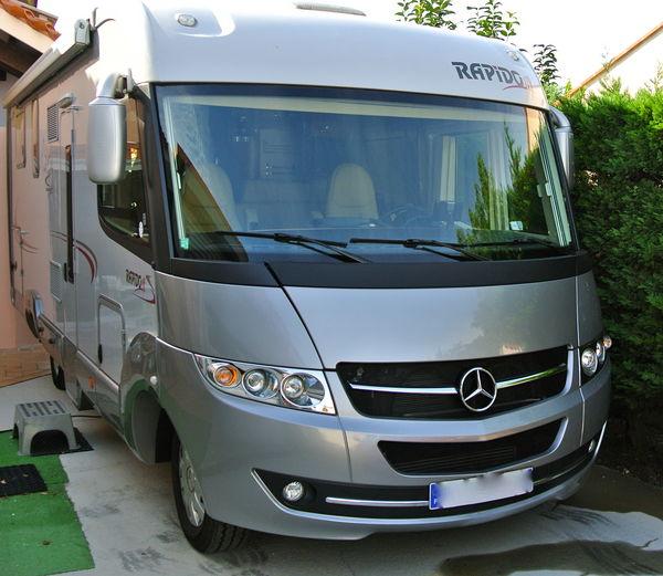 camping car integral neuf mercedes