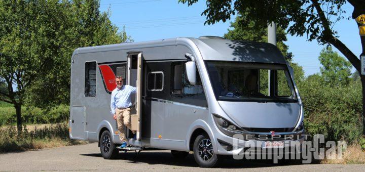 camping car integral nouveaute 2018