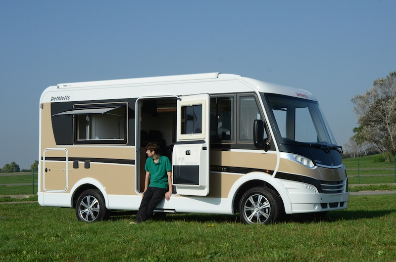 camping car integral occasion dethleffs