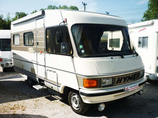 camping car integral occasion hymer