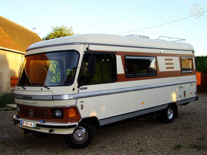 camping car integral occasion particulier