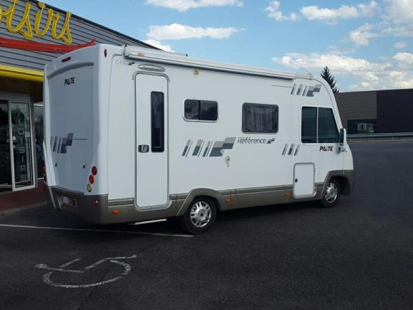 camping car integral pilote g 630