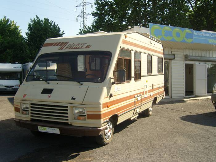 camping car integral pilote occasion