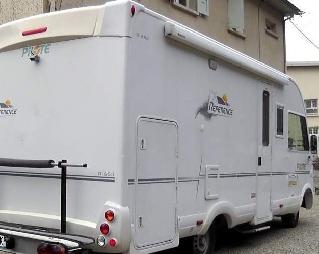 camping car integral pilote reference g-653