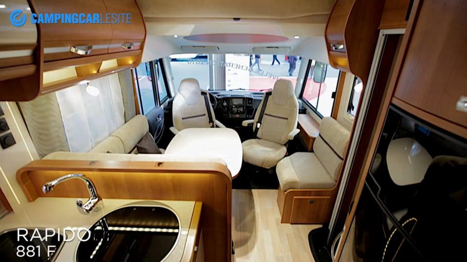 camping car integral rapido 881 f