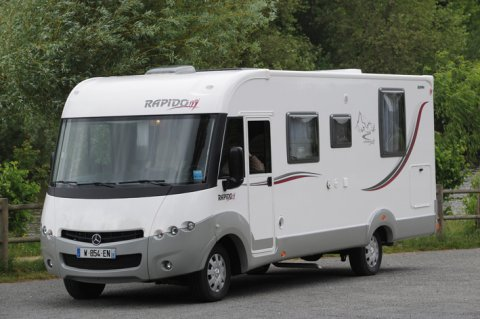 camping car integral rapido 891 f