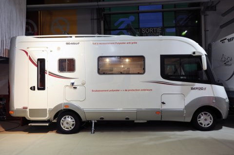 camping car integral rapido 9048 df