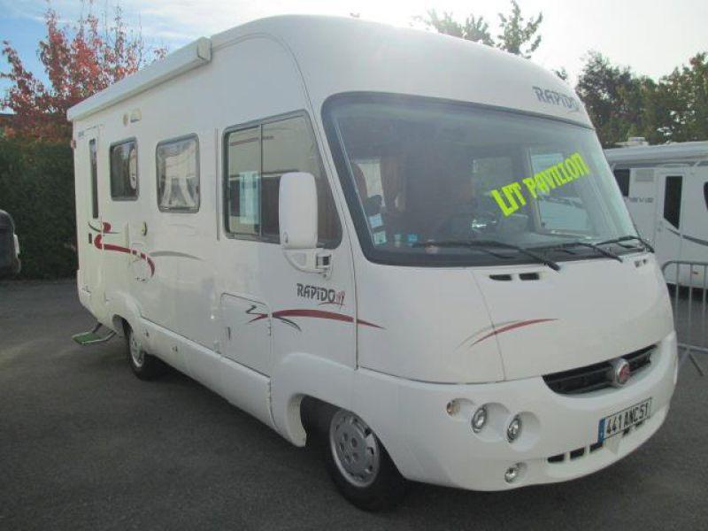 camping car integral rapido 924 f