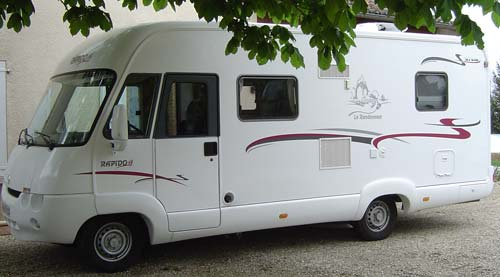 camping car integral rapido 972 m