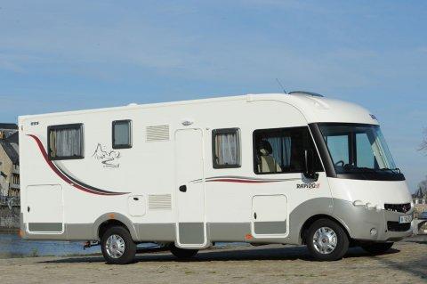 camping car integral rapido