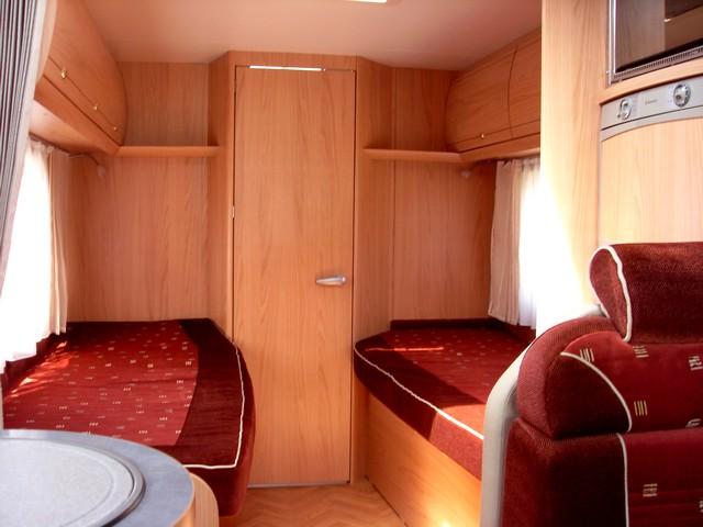 camping car integral salle de bain arriere