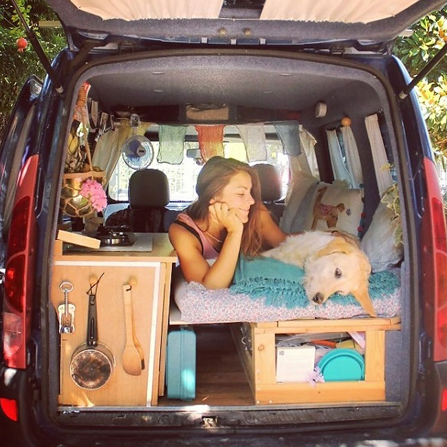 camping car kangoo