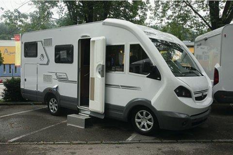 camping car knaus integral 2005