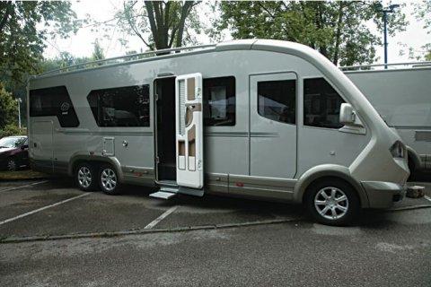 camping car knaus occasion integral