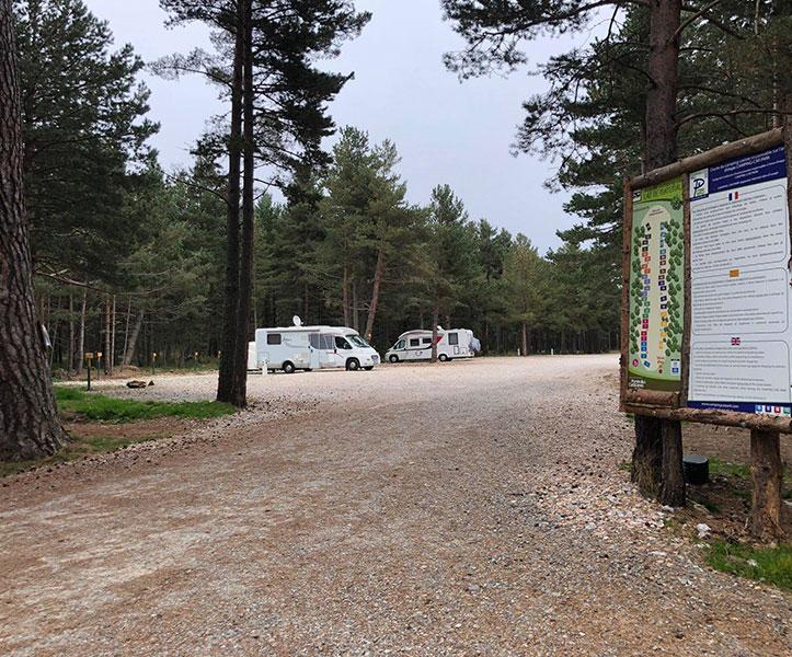 camping car les angles