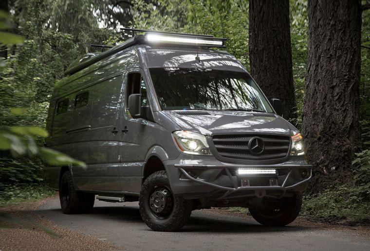 camping car mercedes 4x4