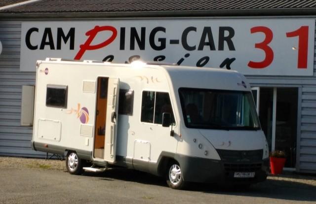 camping car mooveo integral 2009