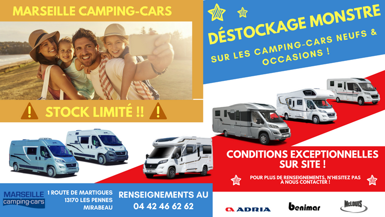 camping car pennes mirabeau