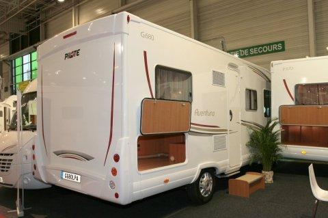 camping car pilote g 680 integral