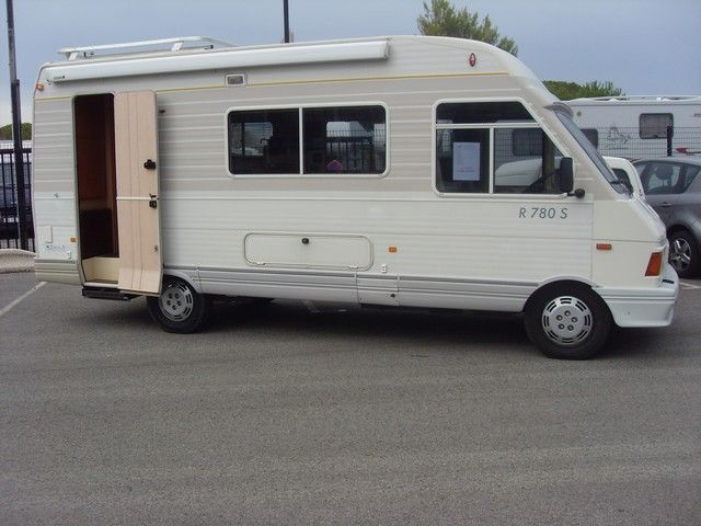 camping car pilote integral 1990