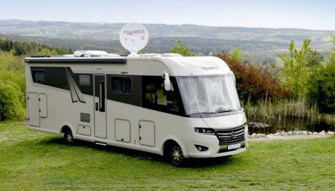 camping car poids lourd frankia i840 qd integral