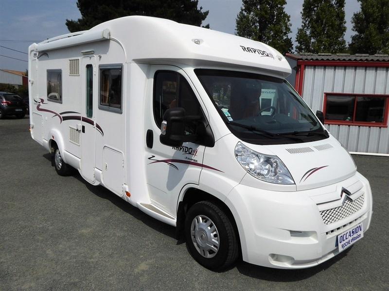 camping car rapido 2.2l profile 130 ch annee 2008