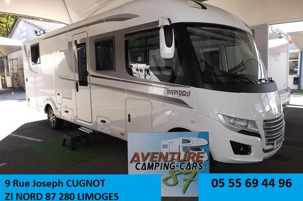 camping car rapido integral 2018