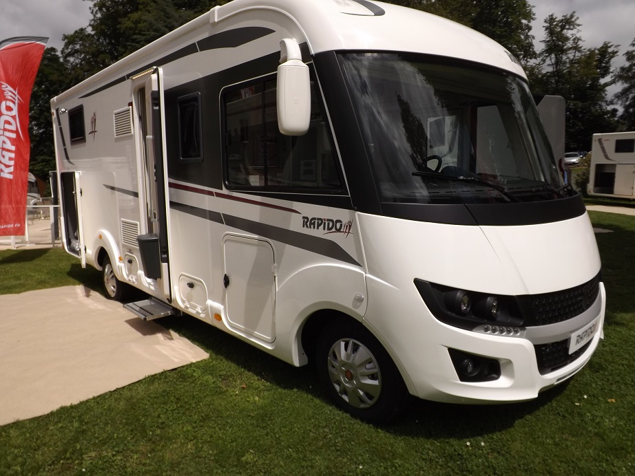 camping car rapido integral 8096 df