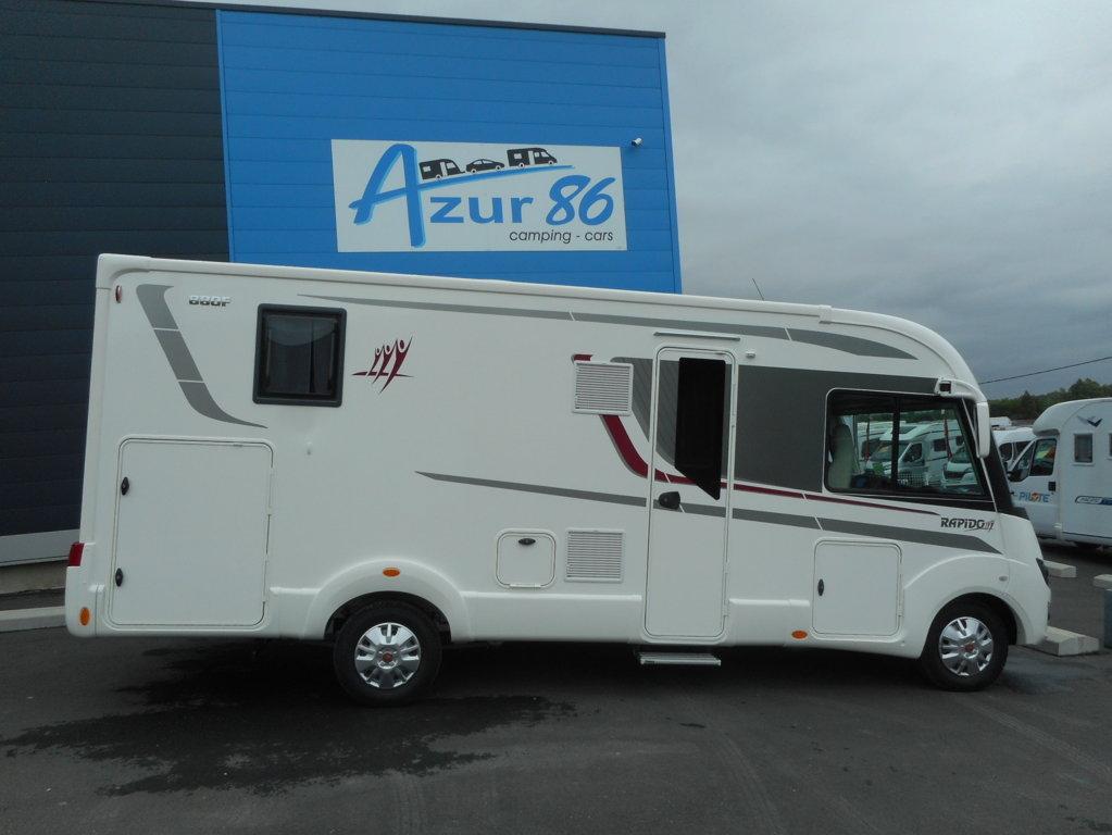 camping car rapido integral 880f