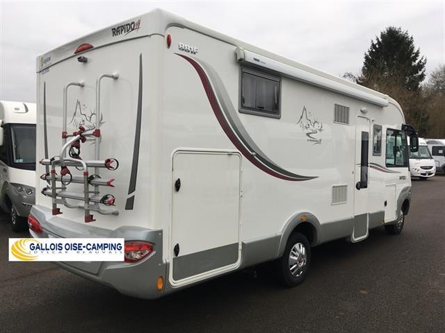 camping car rapido integral 881f lit central 2014