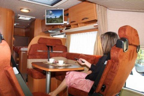camping car t v