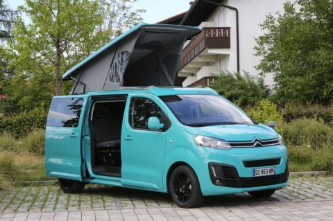 camping car toit relevable