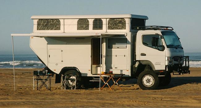 camping car tout terrain