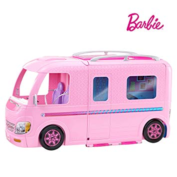 camping car transformable barbie