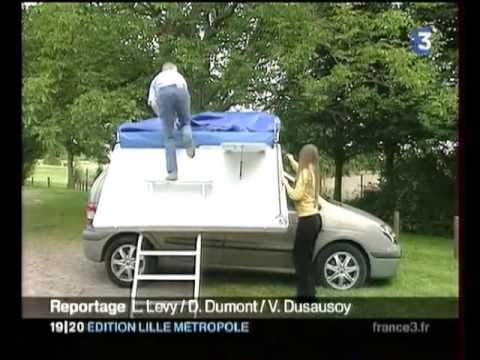 camping car ultra leger