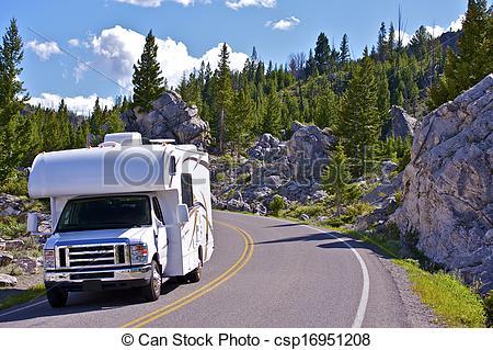 camping car yellowstone