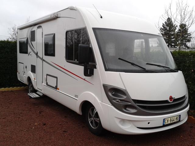 location camping car 45