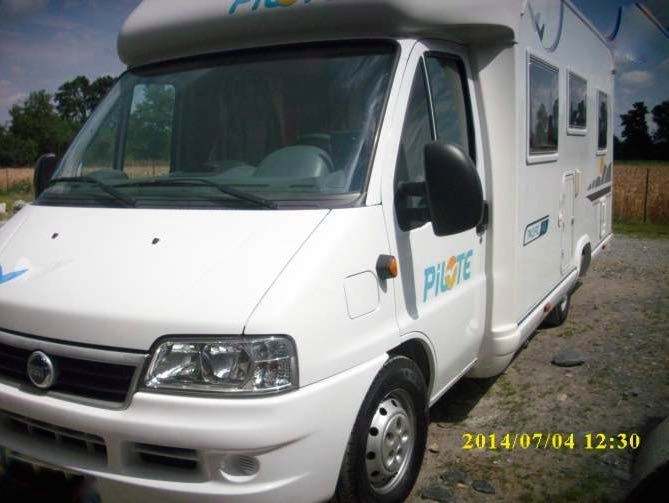 location camping car 49