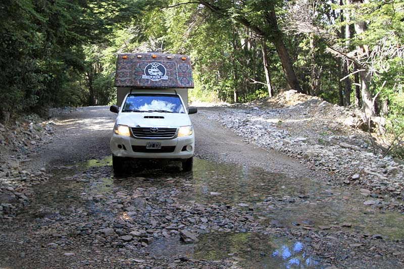 location camping car 4x4 argentine